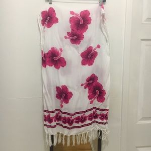 Other - 🌹Hibiscus Sarong Wrap from Hawaii BOGO50%